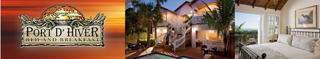 Welcome to the beautiful Port d Hiver Bed and Breakfast in Melbourne Beach!
